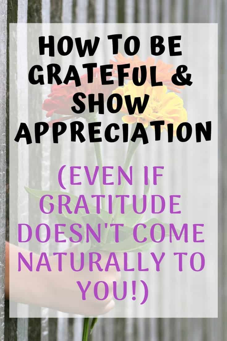 how to be grateful and show appreciation
