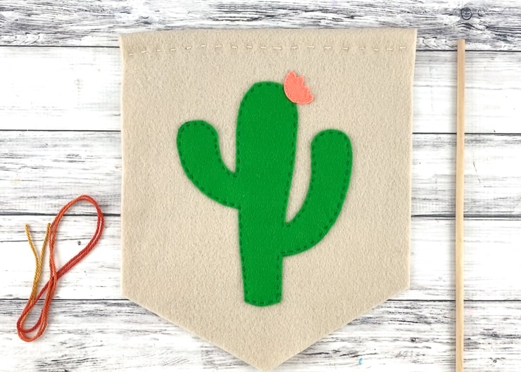 How to make a cactus wall hanging