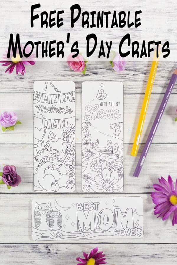 Free Printable Mother's Day Cards & Crafts