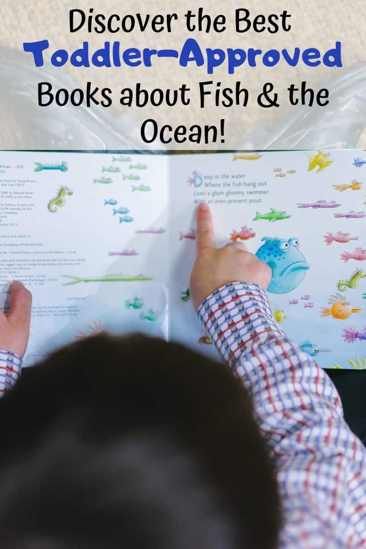 Discover the best toddler-approved books about fish and the ocean