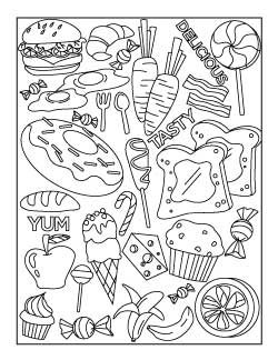 cookout-food-coloring-page