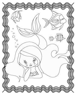 dreaming-mermaid-coloring-page