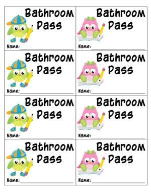 free-printable-bathroom-pass-with-owls