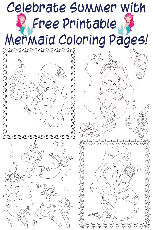 free-printable-mermaid-coloring-pages