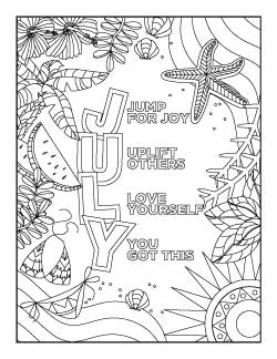 july-coloring-page