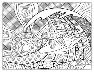 surfing-starfish-coloring-page