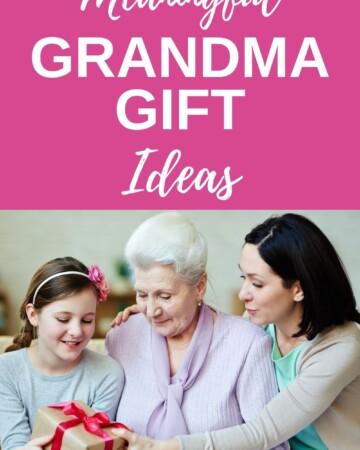 meaningful grandma gift ideas