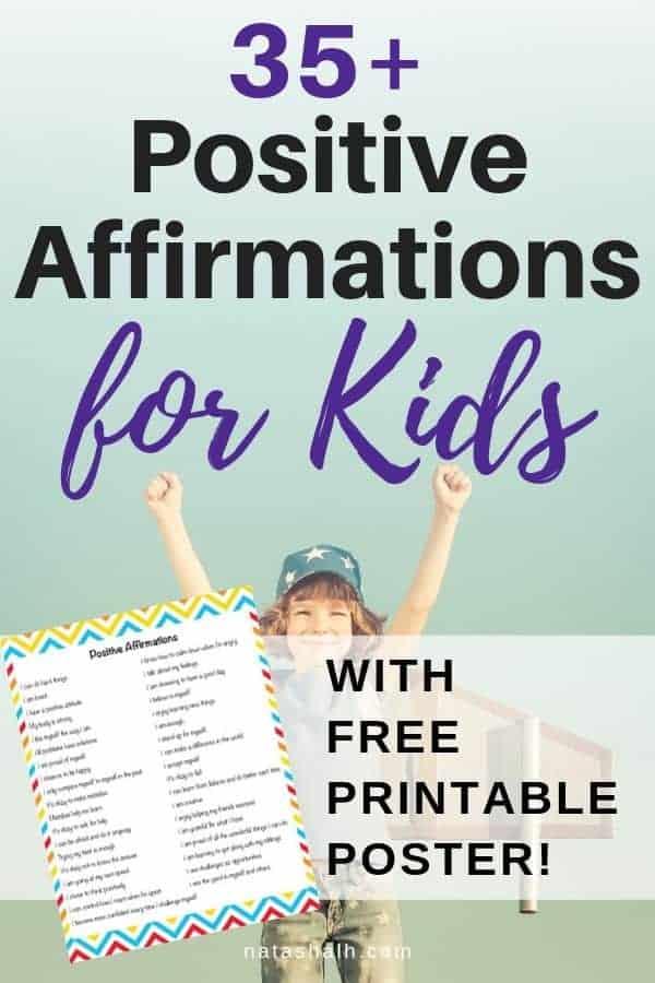 35+ positive affirmations for kids
