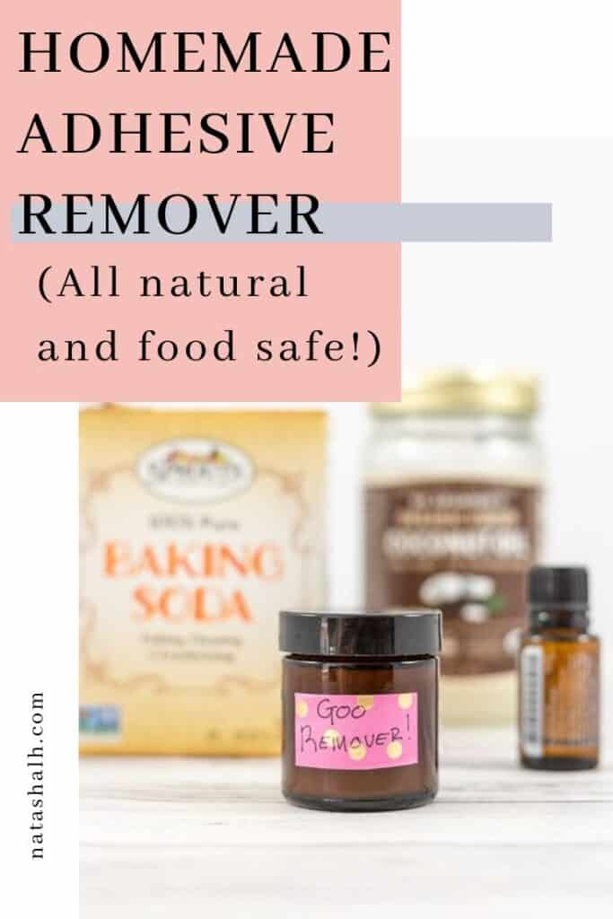 homemade adhesive remover