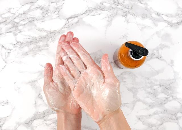 creamy homemade body wash
