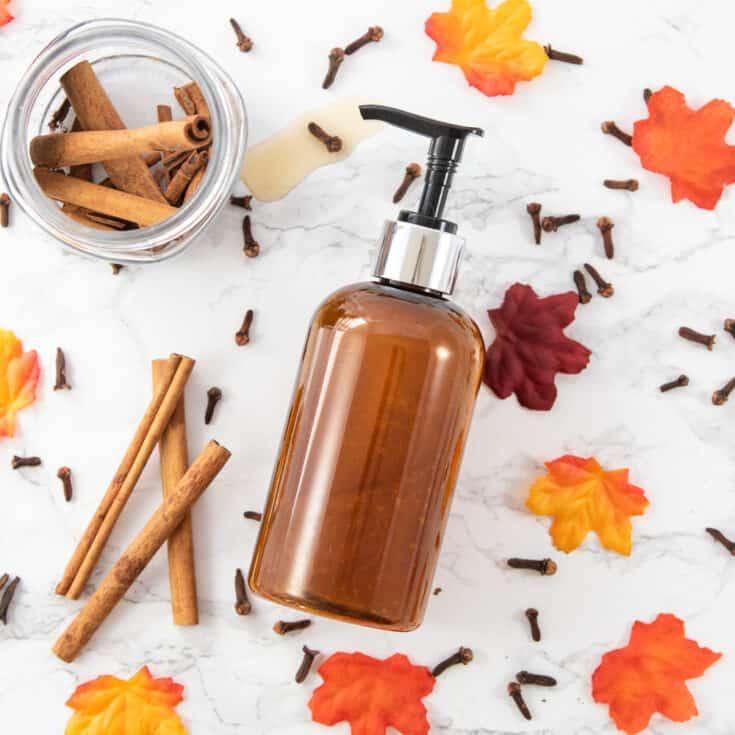 pumpkin spice body wash