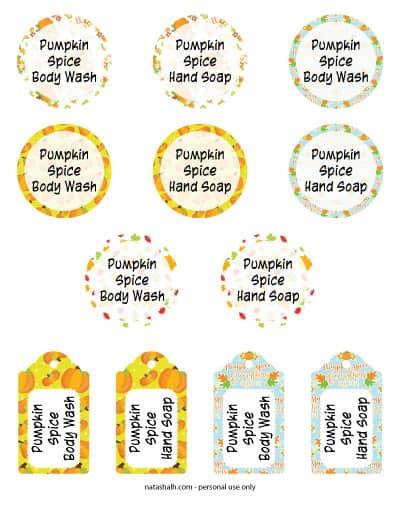 pumpkin-spice-body-wash-gift-tags