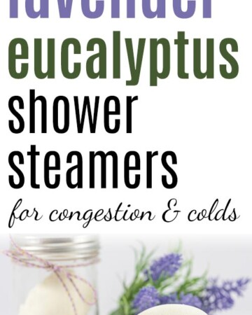 soothing lavender eucalyptus shower steamers