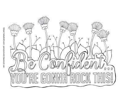 21 Free Inspirational Coloring Pages For When You Re Having A Tough Day The Artisan Life
